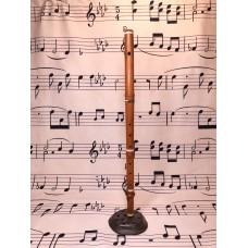 Boxwood flute. 1 key