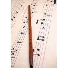 Flute. Renaissance flute. Rosewood. Made by Saxaflute