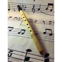 Soprano sax Hardwood  Bamboo Saxaflute. Hand turned
